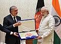 The Chief Executive of Afghanistan, Mr. Abdullah Abdullah calls on the Prime Minister, Shri Narendra Modi, in New Delhi on September 28, 2017 (1).jpg