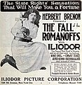 The Fall of the Romanoffs (1917) - Ad 2.jpg