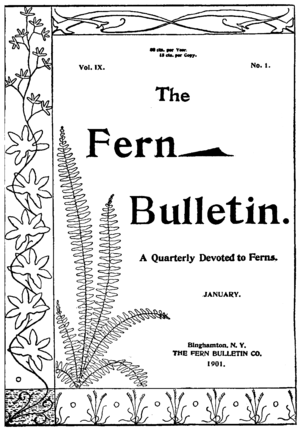 The Fern Bulletin cover Vol 9, No 1, 1901.png
