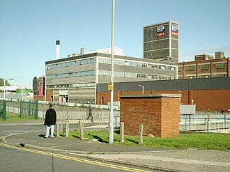 HP Sauce - The HP Sauce factory in 2006