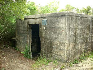 Fort Fisher State Recreation Area - The Fort Fisher Hermit's bunker, October 2007