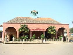 The Juma Mosque in Boradigah Azerbaijan.JPG