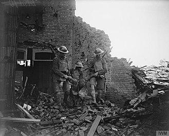 London Regiment (1908–1938) - The London Regiment on the Western Front, c.1914–1918
