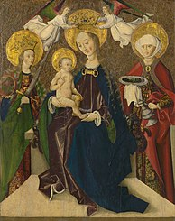The Madonna Enthroned between St. Catherine and St. Elizabeth from Hungary