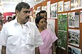 The Minister for Revenue & Law, Tamil Nadu, Shri I. Periasami visiting the Info Expo Public Information Campaign at Dindigul in Tamil Nadu on July 13, 2006.jpg