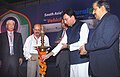 """The Minister of State for Petroleum & Natural Gas, Shri Jitin Prasada lighting the lamp to inaugurate the """"South Asia's Natural Gas for Vehicles Conference & Exhibition"""", in Mumbai on November 24, 2010.jpg"""
