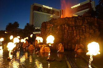 The Mirage - Image: The Mirage Vegas Volcano