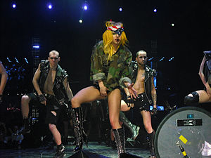 A Very Gaga Thanksgiving - Gaga lost the Dorian Awards to her own TV special for The Monster Ball Tour