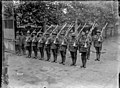 The New Zealand Divisional Headquarters guards, Beauvois, World War I (21637515716).jpg