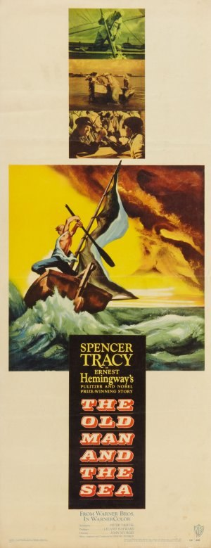 The Old Man and the Sea (1958 film) - Original theatrical release poster