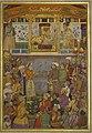 The Padshahnama, Jahangir presents Prince Khuram with a turban ornament.jpg