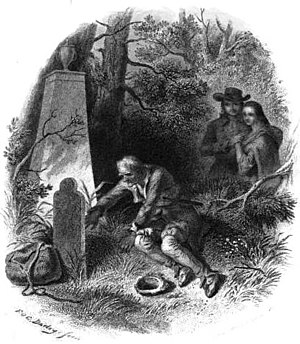 The Pioneers (novel) - Illustration by Felix Octavius Carr Darley