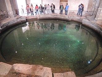 Frigidarium - The Roman Circular Bath, Roman Baths