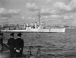 USS Hale (DD-133) - HMS Caldwell in Royal Navy service