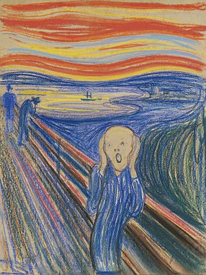 Leon Black - Image: The Scream Pastel