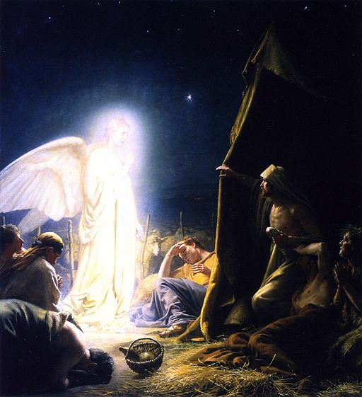 The Shepherds and the Angel