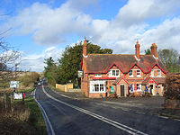 The Tally Ho and the A338, Hungerford Newtown - geograph.org.uk - 1231162.jpg