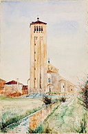 The Tower, Cathedral of Torcello SAAM-1962.13.75 1.jpg