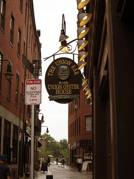 Union Oyster House Freedom Trail Room
