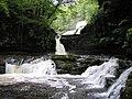 The Waterfalls at Ystradfellte - geograph.org.uk - 20521.jpg