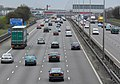 The busy M1 motorway. - geograph.org.uk - 387438.jpg