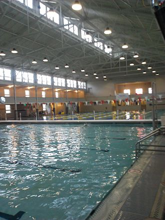 The Plunge - The interior of the natatorium