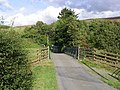 The road to Terrona Farm - geograph.org.uk - 566528.jpg