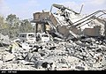 The ruins of the American missile attack on Syria 09.jpg