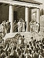 Themistocles honoured at Sparta, illustration from 'Hutchinson's History of the Nations', 1915.jpg