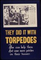 They did it with torpedoes. You can help them put some more patches on their banner. - NARA - 534784.tif