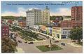 Third Street intersection, showing Dempsey Hotel, Macon, Ga. (8367057841).jpg