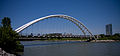 This Humber River bridge spans the river where it joins Lake Ontario -a.jpg