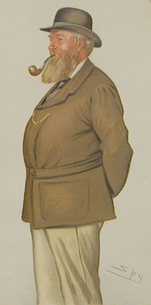 Thomas Coke, 2nd Earl of Leicester - Thomas Coke, second Earl of Leicester, by Leslie Ward, 1883.