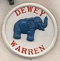 Thomas E. Dewey presidential campaign button, 1948 (cropped).jpg