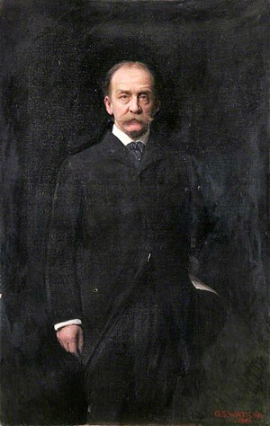 Thomas Gibson Bowles - Thomas Gibson Bowles (George Spencer Watson, 1901)