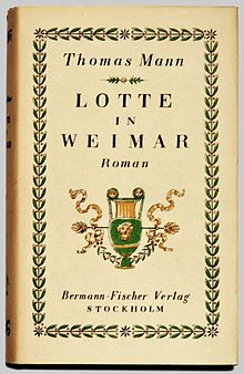 Lotte In Weimar Wikipedia
