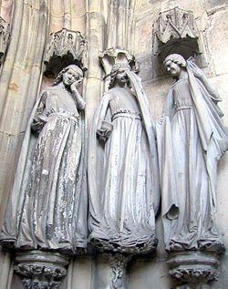Скульптура играла огромную роль в создании