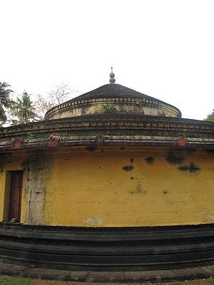 Puliyur Mahavishnu Temple - Image of the Sreekoil, the sanctum
