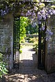 Through the gateway Barrington Court gardens - geograph.org.uk - 452133.jpg