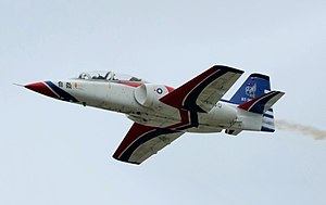 Thundertigers AT-3 Flight over Hualien AFB.jpg