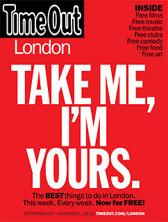 <i>Time Out</i> (magazine) magazine