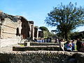 Tivoli- Hadrianus császár - 'Villa Adriana' romkert3.JPG