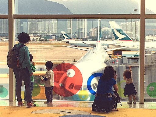 Toddlers and Airplane (22955382211)