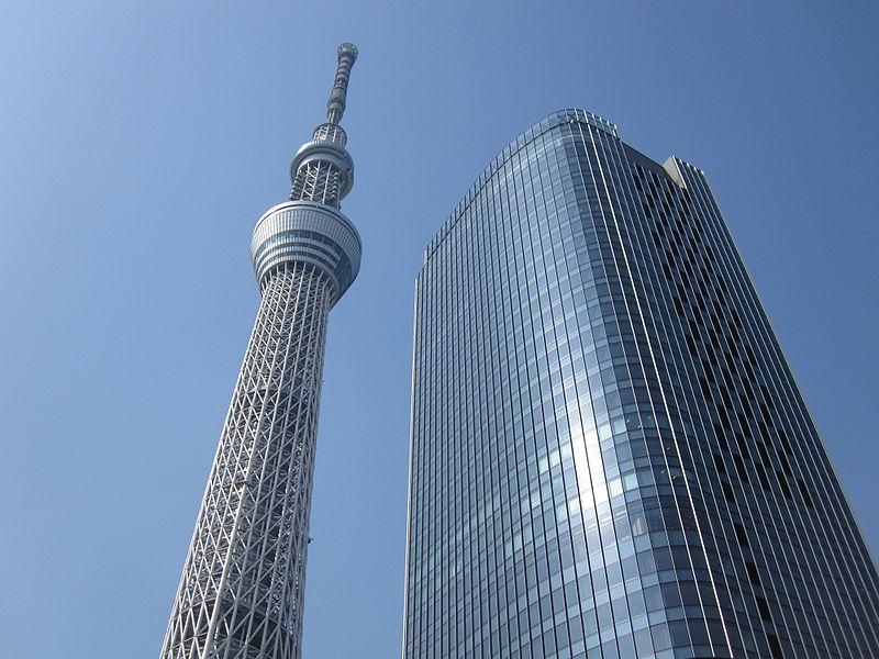 File:Tokyo Sky Tree and East Tower Feb.10,2012.JPG