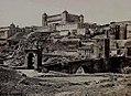Toledo. Vista del Alcázar desde el puente de San Martín, Robert P. Napper.jpg