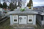Tomb of Moszoro family at Central Cemetery in Sanok 1.jpg