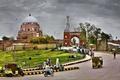 Tomb of Shah rukn e alam multan road view.png