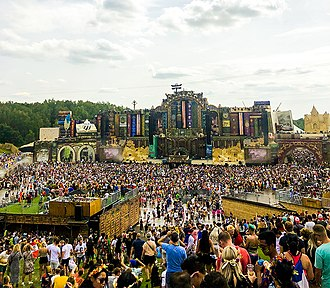 Tomorrowland Mainstage 2019 Tomorrowland mainstage 19juillet2019.jpg
