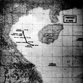 Tonkin Gulf incident map of alleged attacks on 4 August 1964.png
