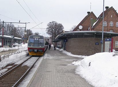 How to get to Tønsberg stasjon with public transit - About the place